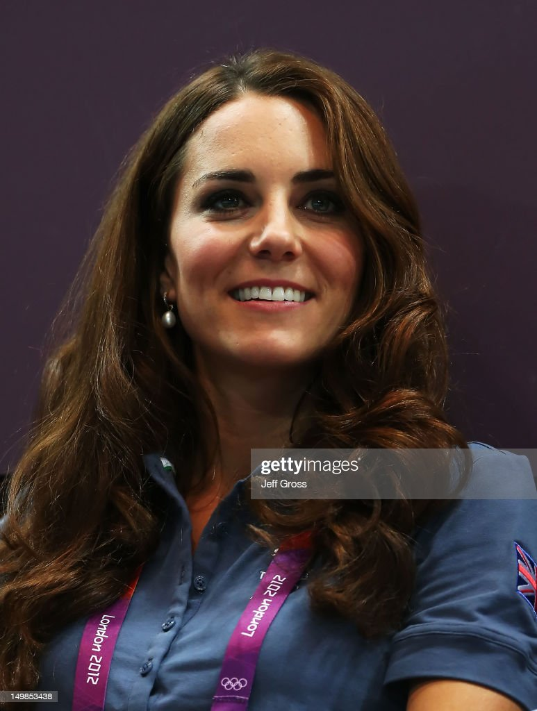 <a gi-track='captionPersonalityLinkClicked' href=/galleries/search?phrase=Catherine+-+Duchess+of+Cambridge&family=editorial&specificpeople=542588 ng-click='$event.stopPropagation()'>Catherine</a>, Duchess of Cambridge looks on during the Women's Handball Preliminaries Group A match between Great Britain and Croatia on Day 9 of the London 2012 Olympic Games at the Copper Box on August 5, 2012 in London, England.