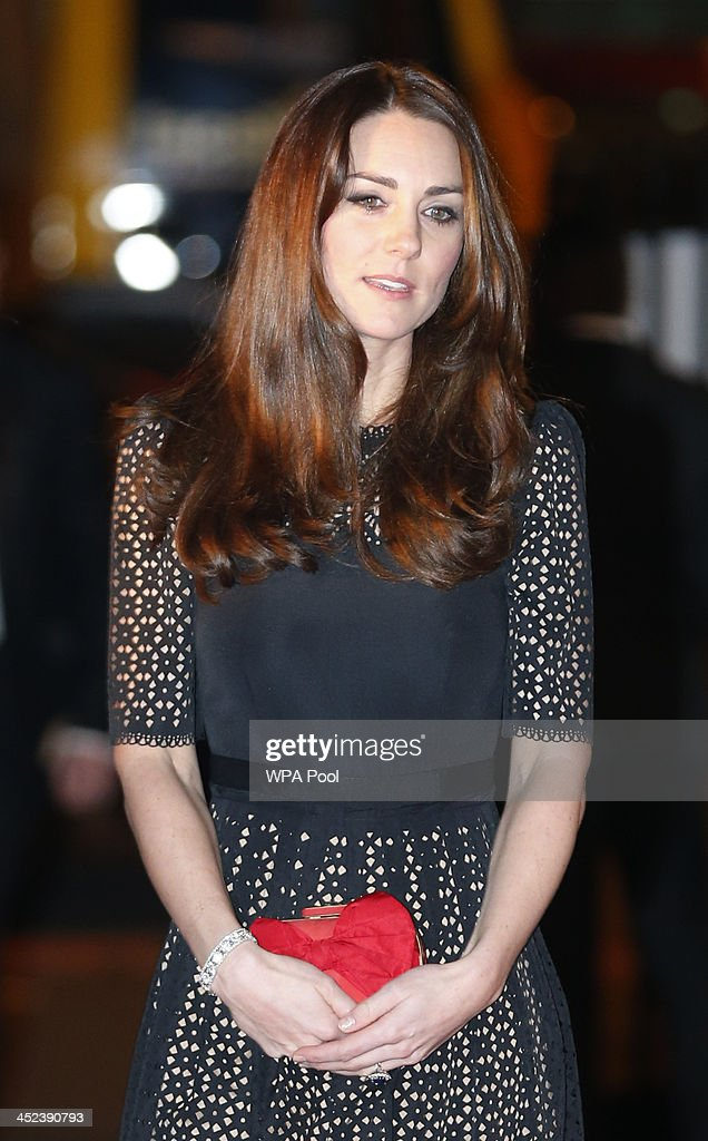 Catherine, Duchess of Cambridge, patron of SportsAid charity, arrives at the SportsBall, the charity's annual gala dinner at Victoria Embankment Gardens on November 28, 2013 in London, England.