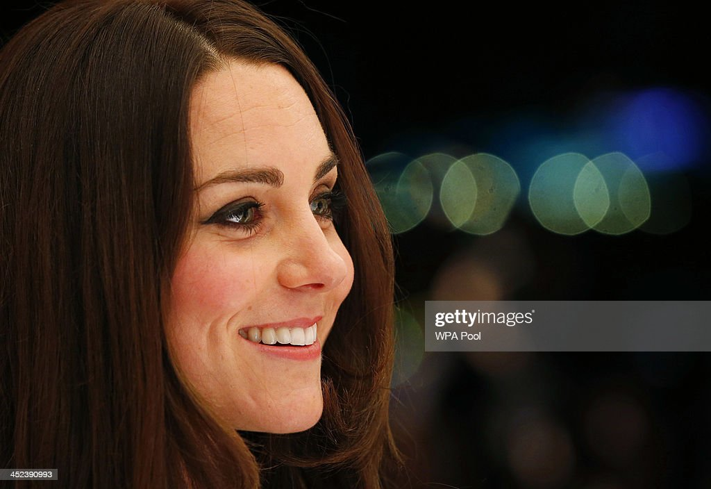 <a gi-track='captionPersonalityLinkClicked' href=/galleries/search?phrase=Catherine+-+Duchess+of+Cambridge&family=editorial&specificpeople=542588 ng-click='$event.stopPropagation()'>Catherine</a>, Duchess of Cambridge, patron of SportsAid charity, meets young athletes at the SportsBall, the charity's annual gala dinner at Victoria Embankment Gardens on November 28, 2013 in London, England.