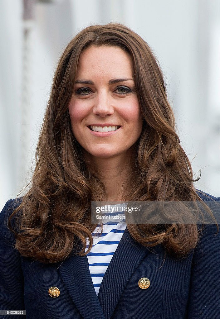 Catherine, Duchess of Cambridge poses ahead of going sailing during their visit to Auckland Harbour on April 11, 2014 in Auckland, New Zealand. The Duke and Duchess of Cambridge are on a three-week tour of Australia and New Zealand, the first official trip overseas with their son, Prince George of Cambridge.