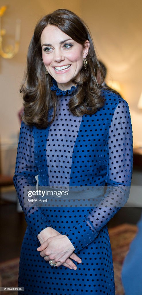 The Duke An Duchess Of Cambridge Attend Reception At Kensington Palace Ahead Of Their Tour To India & Bhutan
