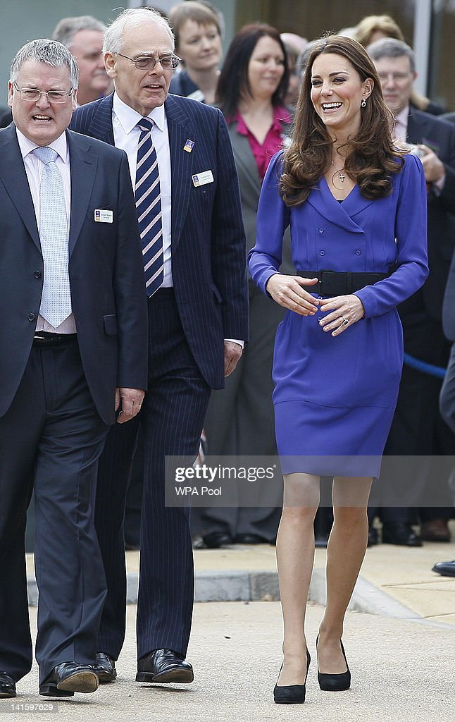 Catherine, Duchess of Cambridge smiles during a visit to open The Treehouse Children's Hospice on March 19, 2012 in Ipswich, England.