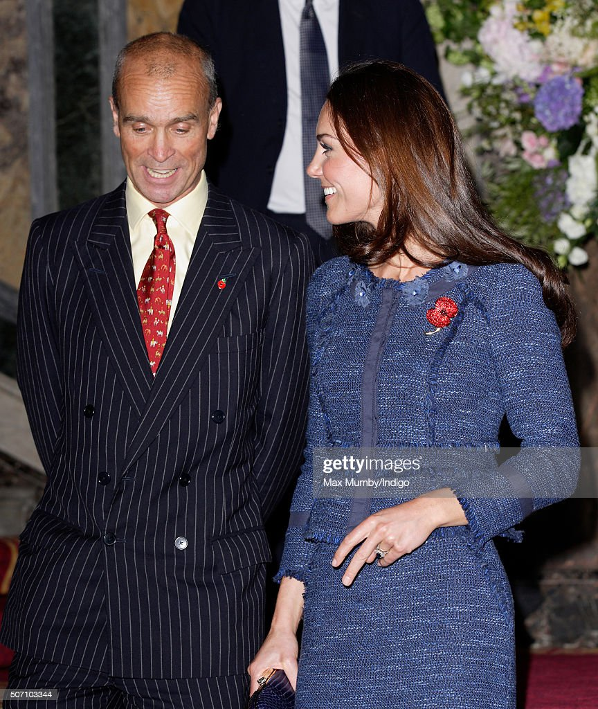 <a gi-track='captionPersonalityLinkClicked' href=/galleries/search?phrase=Catherine+-+Duchess+of+Cambridge&family=editorial&specificpeople=542588 ng-click='$event.stopPropagation()'>Catherine</a>, Duchess of Cambridge talks with explorer <a gi-track='captionPersonalityLinkClicked' href=/galleries/search?phrase=Henry+Worsley&family=editorial&specificpeople=14611455 ng-click='$event.stopPropagation()'>Henry Worsley</a> as she attends a reception to celebrate the Scott-Amundsen Centenary Race to the South Pole at Goldsmiths' Hall on April 26, 2012 in London, England.