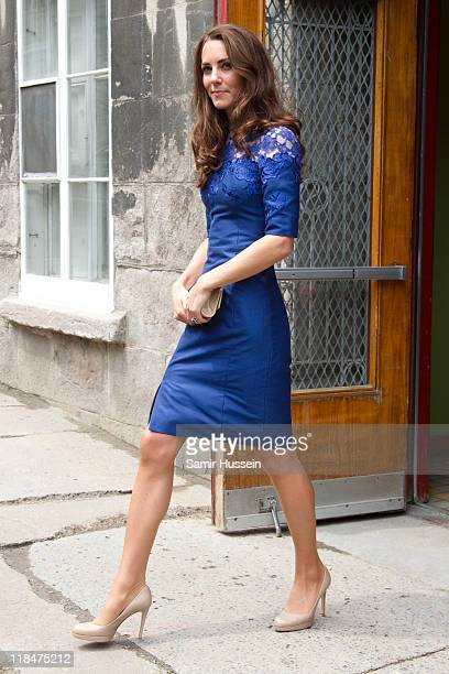 Catherine Duchess of Cambridge visits a drop in centre for homeless and young people on day 4 of the Royal Couple's North American Tour July 3 2011...
