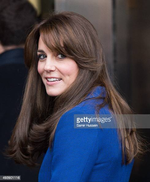 Catherine Duchess of Cambridge visits Abertay University on October 23 2015 in Dundee Scotland