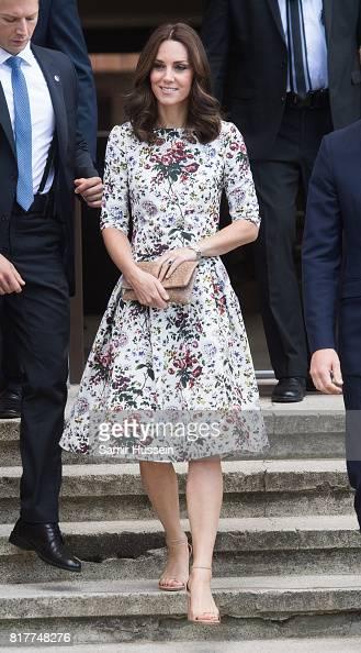 The Duke And Duchess Of Cambridge Visit Poland - Day 2 : News Photo