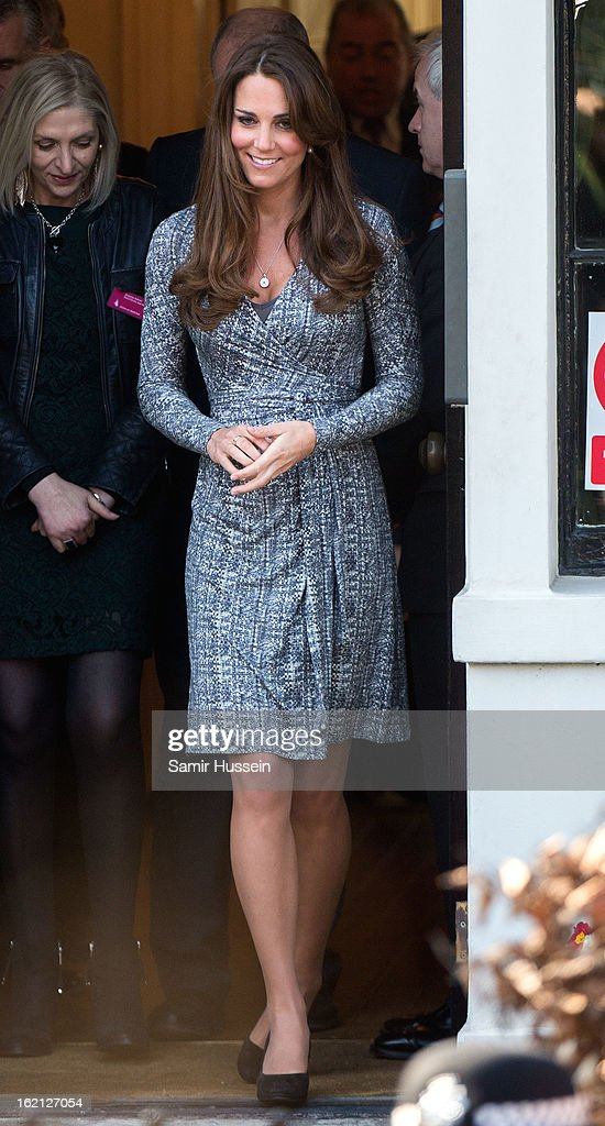 Catherine, Duchess of Cambridge visits Hope House on February 19, 2013 in London, England.