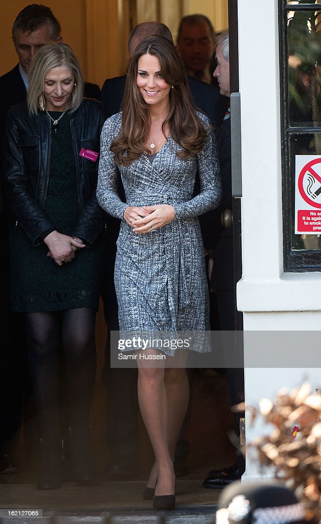 <a gi-track='captionPersonalityLinkClicked' href=/galleries/search?phrase=Catherine+-+Duchess+of+Cambridge&family=editorial&specificpeople=542588 ng-click='$event.stopPropagation()'>Catherine</a>, Duchess of Cambridge visits Hope House on February 19, 2013 in London, England.