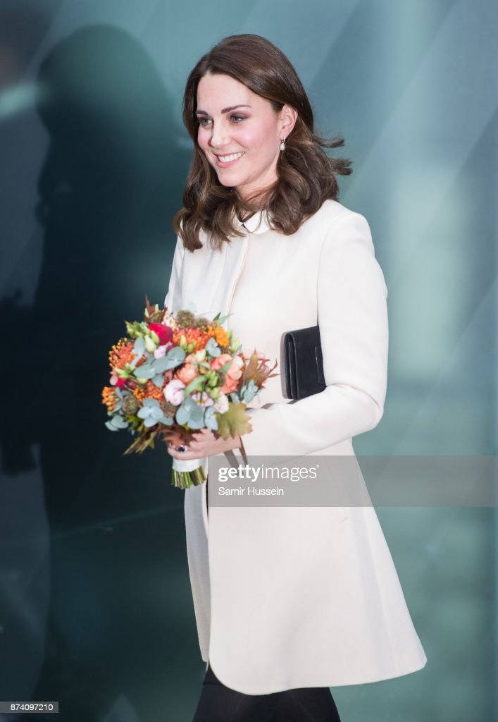 Catherine, Duchess of Cambridge visits Hornsey Road Children's Centre on November 14, 2017 in London, England.