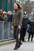 The Duchess Of Cambridge Visits Islington Community...