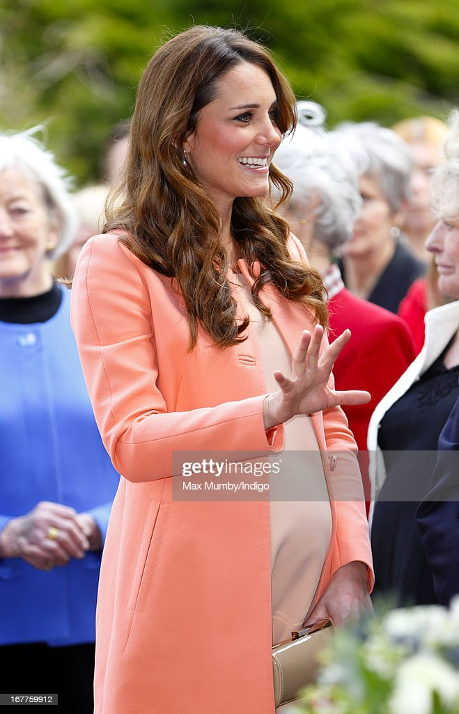 Catherine, Duchess of Cambridge visits Naomi House Children's Hospice, to celebrate Children's Hospice Week 2013 on April 29, 2013 near Winchester, Hampshire, England. Today marks the second wedding anniversary of Prince William, Duke of Cambridge and Catherine, Duchess of Cambridge. They married on April 29, 2011 in Westminster Abbey.
