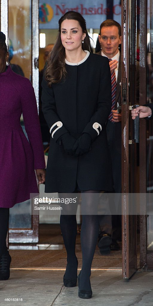Catherine, Duchess of Cambridge visits Northside Center for Child Development during her official two-day visit to the United States on December 8, 2014 in New York City.