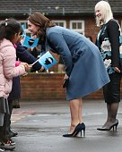 The Duchess Of Cambridge Launches Mental Health...