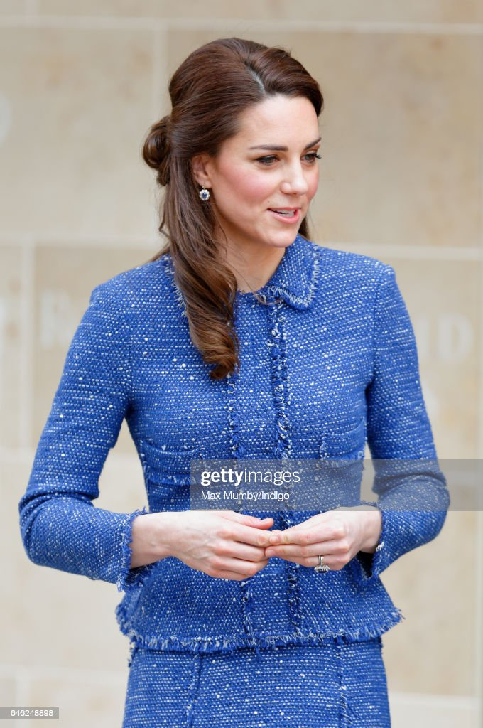 Catherine, Duchess of Cambridge visits Ronald McDonald House Evelina London to officially open the new 'home away from home' accommodation for the families of children being treated at the Evelina London Children's Hospital on February 28, 2017 in London, England.