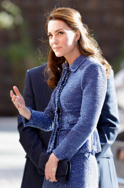 the duchess of cambridge visits ronald mcdonald house evelina london photos and images getty. Black Bedroom Furniture Sets. Home Design Ideas