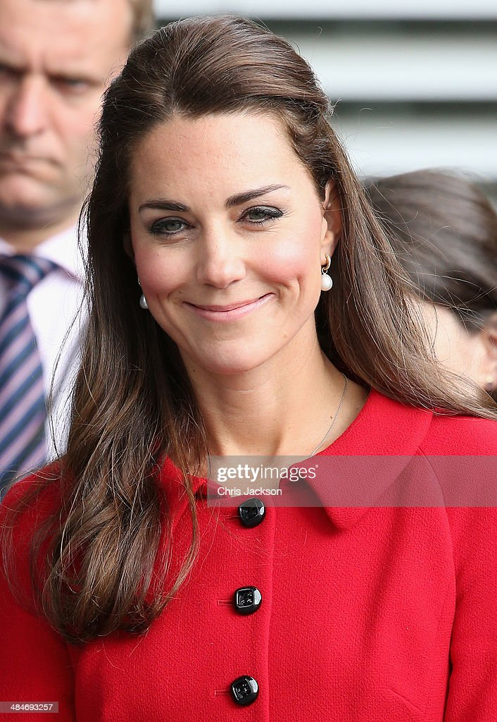 Catherine, Duchess of Cambridge visits the Botanical Gardens on April 14, 2014 in Christchurch, New Zealand. The Duke and Duchess of Cambridge are on a three-week tour of Australia and New Zealand, the first official trip overseas with their son, Prince George of Cambridge.