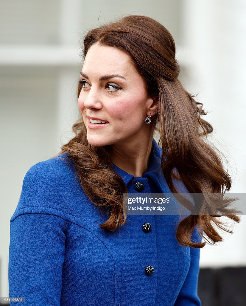 Catherine, Duchess of Cambridge visits the Early Years Parenting Unit (EYPU) of the Anna Freud Centre on January 11, 2017 in London, England.
