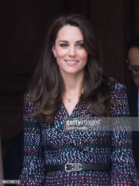 Catherine Duchess of Cambridge visits the Invalides on March 18 2017 in Paris France The Duke and Duchess are on a two day tour of France