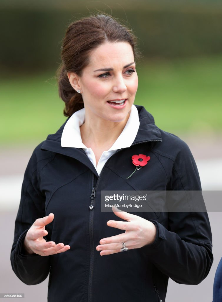 Catherine, Duchess of Cambridge visits the Lawn Tennis Association at the National Tennis Centre on October 31, 2017 in London, England. The Duchess of Cambridge became Patron of the LTA in December 2016.