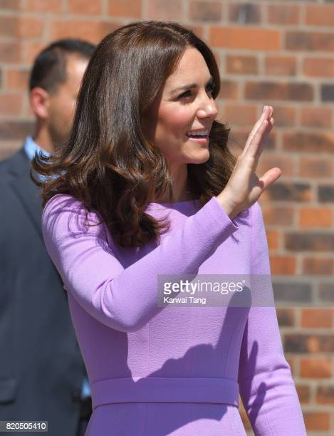 Catherine Duchess of Cambridge visits the Maritime Museum on day 3 of their official visit to Germany on July 21 2017 in Hamburg Germany