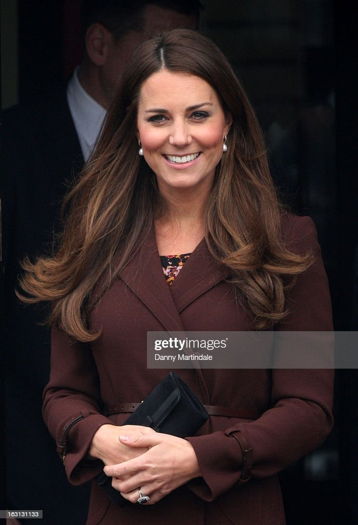 Catherine, Duchess of Cambridge visits the National Fishing Heritage Centre during her official visit to Grimsby on March 5, 2013 in Grimsby, England.