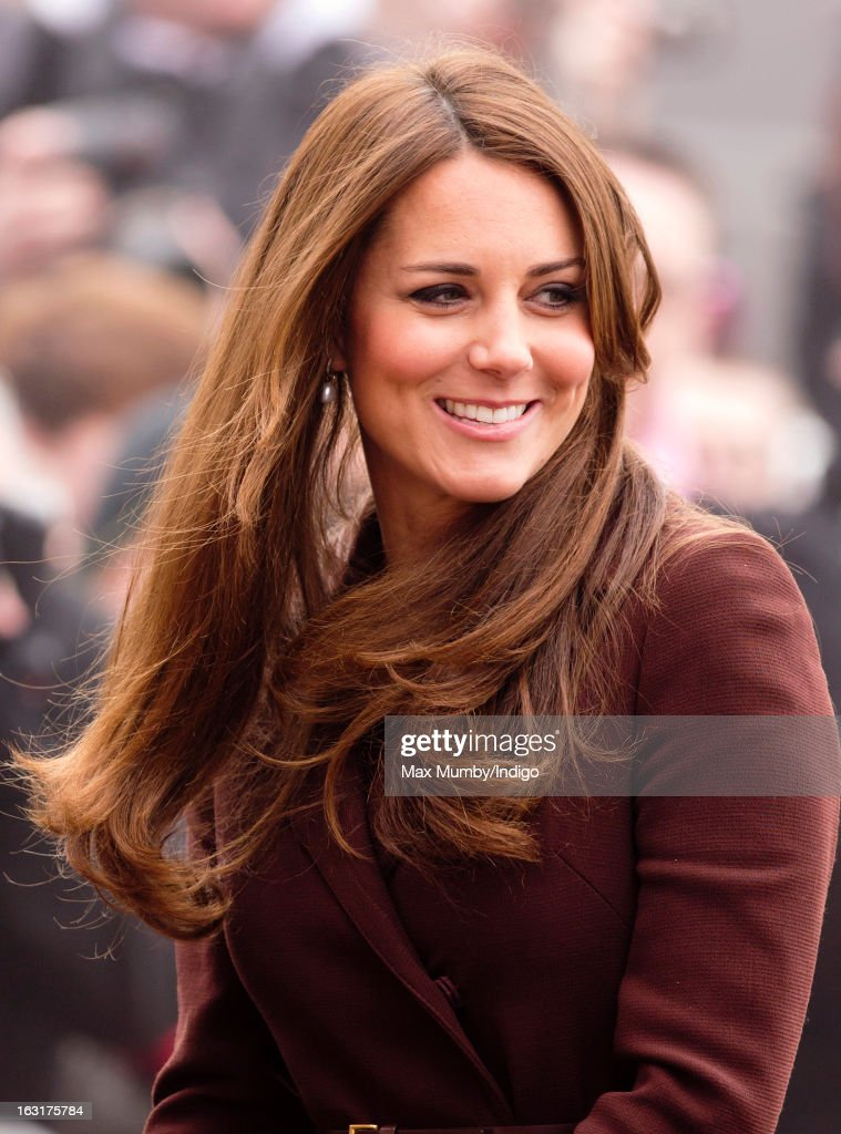 Catherine, Duchess of Cambridge visits the National Fishing Heritage Centre whilst carrying out a day of engagements on March 5, 2013 in Grimsby, England.