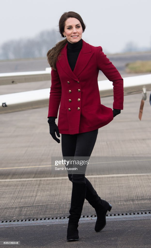 catherine-duchess-of-cambridge-visits-the-raf-air-cadets-at-raf-on-picture-id635239348