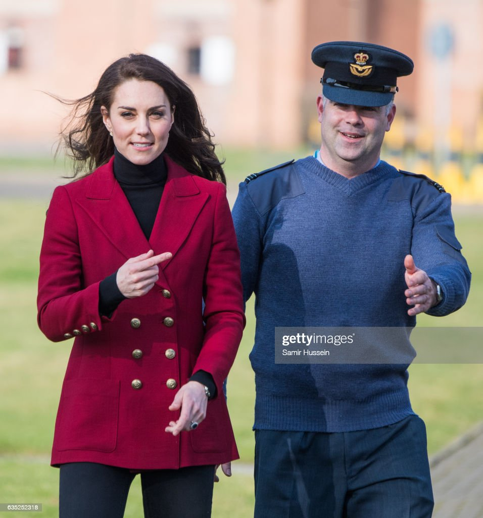 catherine-duchess-of-cambridge-visits-the-raf-air-cadets-at-raf-on-picture-id635252318