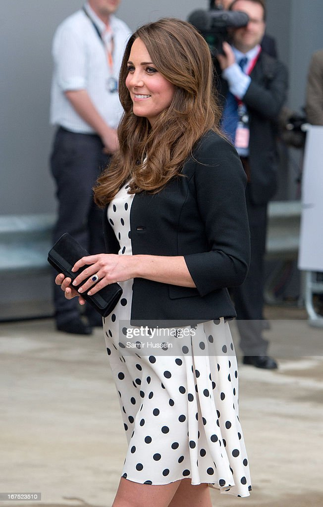 <a gi-track='captionPersonalityLinkClicked' href=/galleries/search?phrase=Catherine+-+Duchess+of+Cambridge&family=editorial&specificpeople=542588 ng-click='$event.stopPropagation()'>Catherine</a>, Duchess of Cambridge visits Warner Bros Studios on April 26, 2013 in Watford, England.