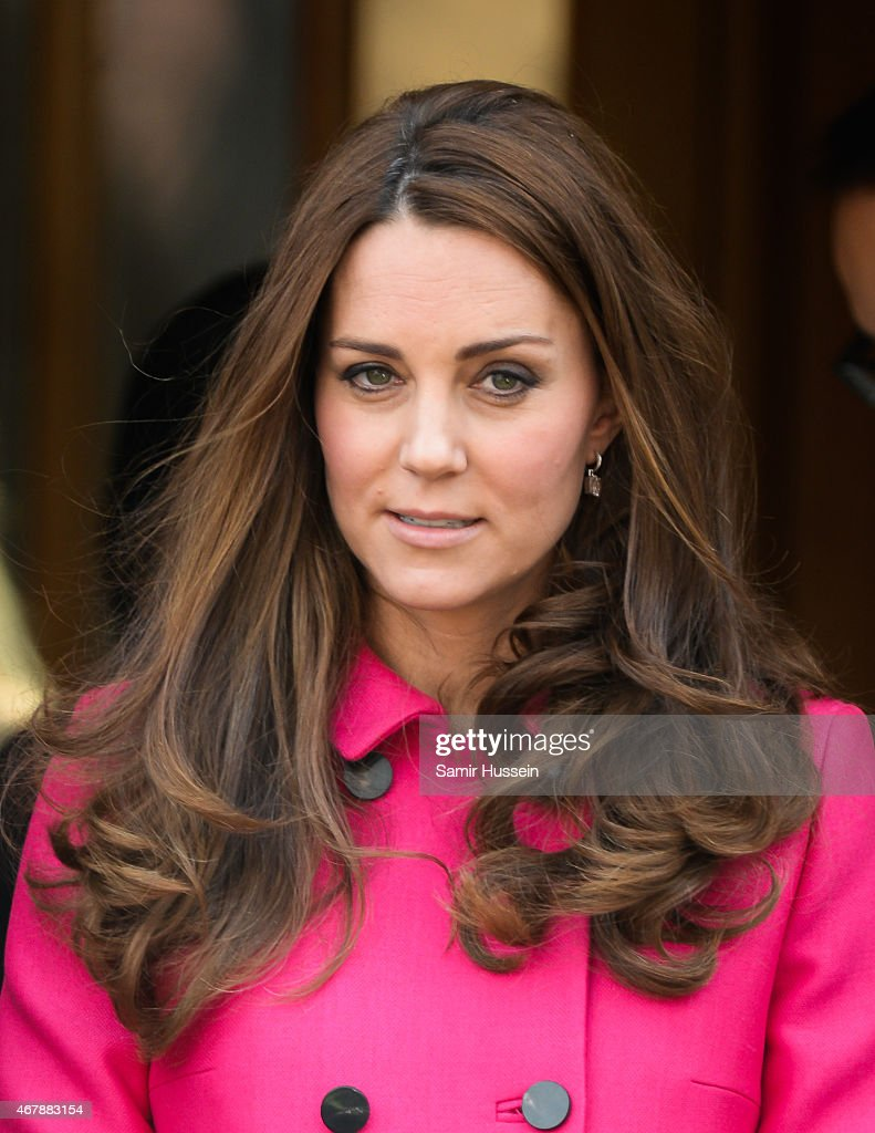 Catherine, Duchess of Cambridge visits XLP at Christ Church, Gipsy Hill on March 27, 2015 in London, England.