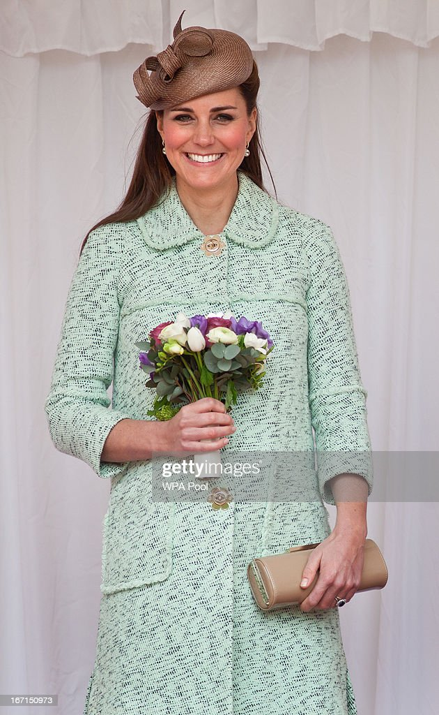 <a gi-track='captionPersonalityLinkClicked' href=/galleries/search?phrase=Catherine+-+Duchess+of+Cambridge&family=editorial&specificpeople=542588 ng-click='$event.stopPropagation()'>Catherine</a>, Duchess of Cambridge watches a march past of several hundred scouts attends the National Review of Queen's Scouts at Windsor Castle on April 21, 2013 in Windsor, England.