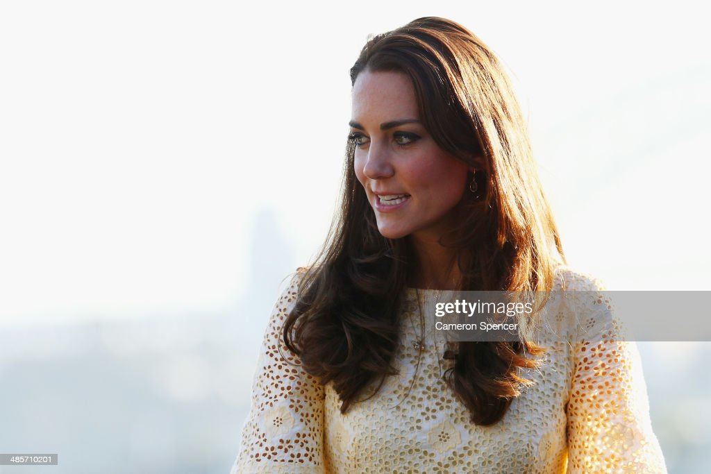 <a gi-track='captionPersonalityLinkClicked' href=/galleries/search?phrase=Catherine+-+Duchess+of+Cambridge&family=editorial&specificpeople=542588 ng-click='$event.stopPropagation()'>Catherine</a>, Duchess of Cambridge watches the Bird Show at Taronga Zoo on April 20, 2014 in Sydney, Australia. The Duke and Duchess of Cambridge are on a three-week tour of Australia and New Zealand, the first official trip overseas with their son, Prince George of Cambridge.