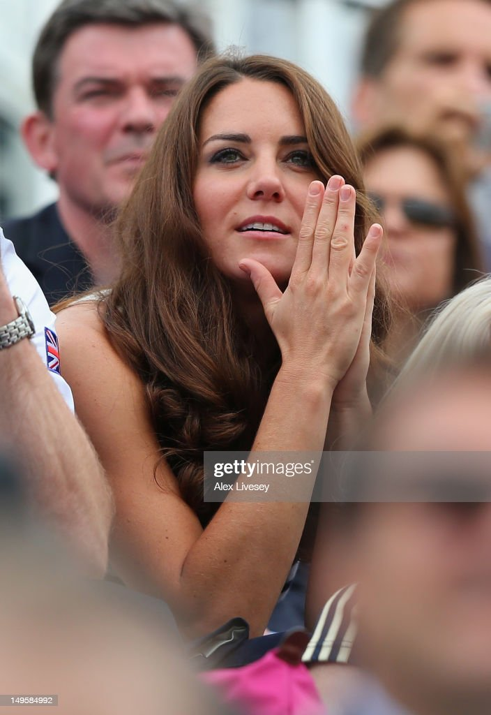 <a gi-track='captionPersonalityLinkClicked' href=/galleries/search?phrase=Catherine+-+Duchess+of+Cambridge&family=editorial&specificpeople=542588 ng-click='$event.stopPropagation()'>Catherine</a>, Duchess of Cambridge watches the Show Jumping Equestrian event on Day 4 of the London 2012 Olympic Games at Greenwich Park on July 31, 2012 in London, England.