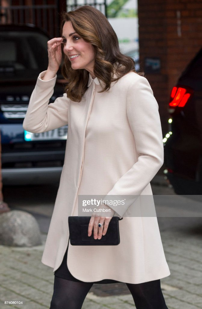 Catherine, Duchess of Cambridgeduring a visit to Hornsey Road Children's Centre on November 14, 2017 in London, England.
