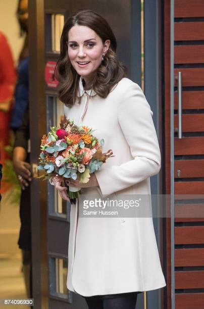 Catherine Duchess of Cambridgevisits Hornsey Road Children's Centre on November 14 2017 in London England