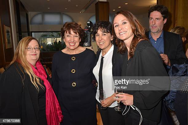 Catherine Durand Roselyne Bachot Isabelle Alonso and Chupa Renie attend the Marie Claire Magazine Litterary Awards 2015 At le Montalembert on June 2...