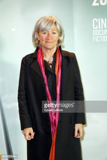 Catherine Dussart attends 1st day photocall of Valenciennes Cinema Festival on March 13 2017 in Valenciennes France