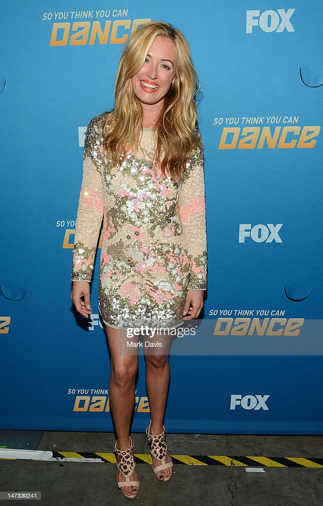 Catherine Elizabeth 'Cat' Deeley poses at the Fox Celebrates The 200th Episode Of 'So You Think You Can Dance'CBS Television City on June 25, 2012 in Los Angeles, California.