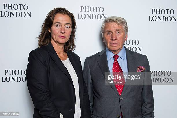 Catherine Fairweather and Don McCullin at the opening of Photo London the UK's largest ever photography event which runs from Thursday 19 Sunday 22...