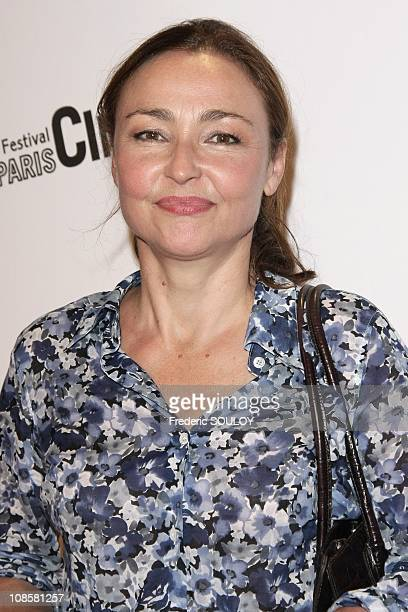 Catherine Frot in Paris France on July 01 2008