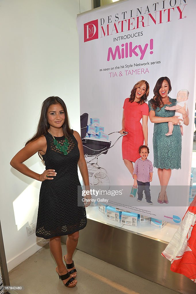 Catherine Giudici attends the Milky! launch event at A Pea In The Pod on May 2, 2013 in Beverly Hills, California.