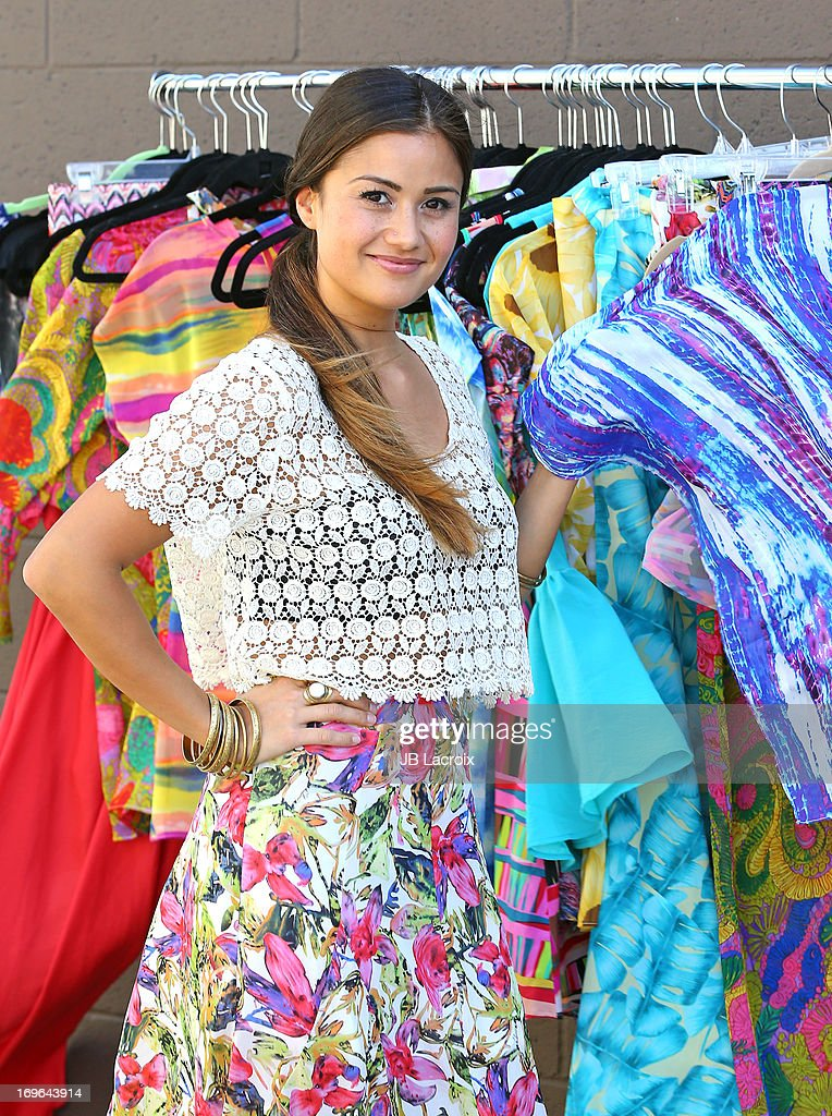 Catherine Giudici is seen on May 29, 2013 in Los Angeles, California.