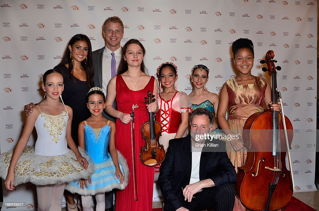 Catherine Giudici, Sean Lowe, Anthony Melikhov and members of Bright Future International attend Beyond The Ballet Showcase Gala at The Beacon Theatre on May 8, 2013 in New York City.