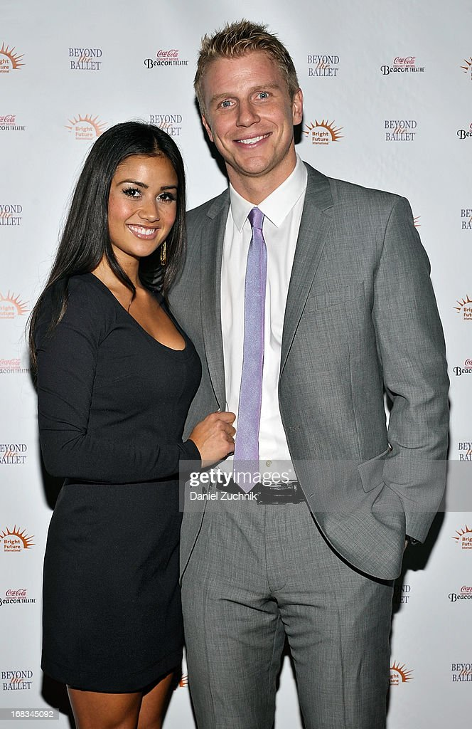 Catherine Guidici and Sean Lowe attend Beyond The Ballet Showcase Gala at The Beacon Theatre on May 8, 2013 in New York City.