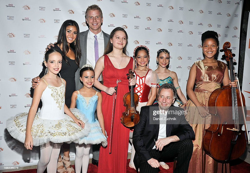 Catherine Guidici, Sean Lowe, Anthony Melikhov and performers attend Beyond The Ballet Showcase Gala at The Beacon Theatre on May 8, 2013 in New York City.