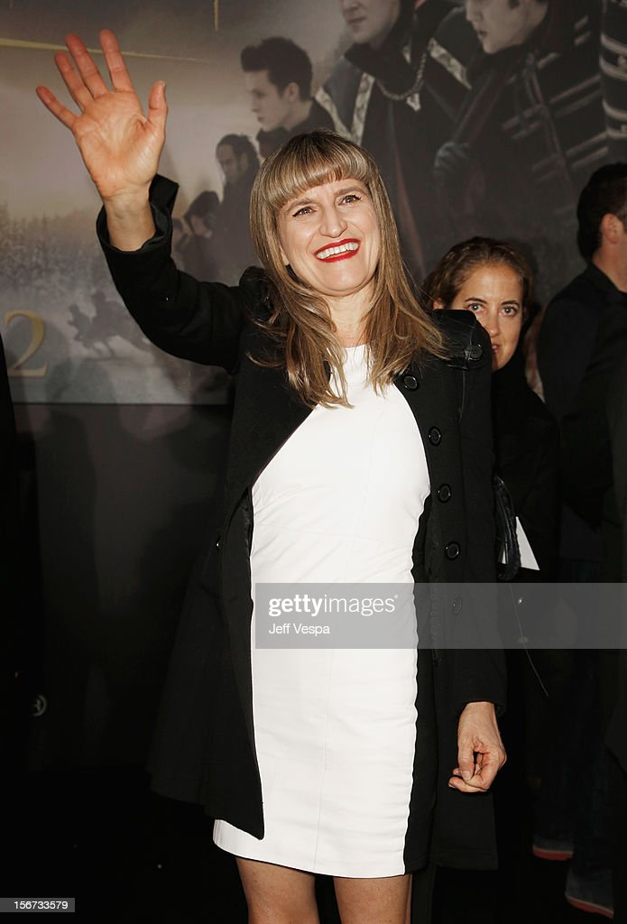 Catherine Hardwicke arrives at 'The Twilight Saga: Breaking Dawn - Part 2' Los Angeles premiere at Nokia Theatre L.A. Live on November 12, 2012 in Los Angeles, California.
