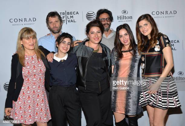 Catherine Hardwicke Bart Freundlich guests Ben Younger Talya Lavie and Lake Bell attend the TFF Awards Night during the 2014 Tribeca Film Festival at...