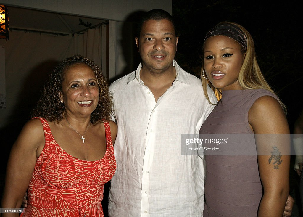 Catherine Hughes (Founder of Radio One), Alfred Liggins and Eve