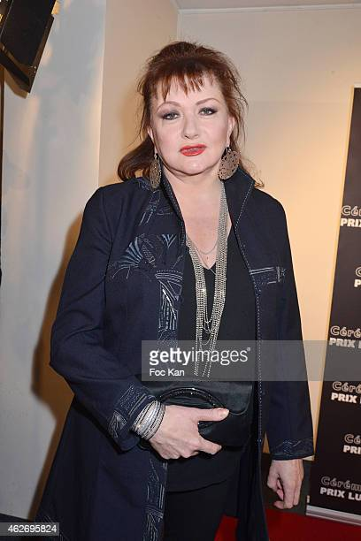 Catherine Jacob attends 'Les Lumieres 2015' Arrivals At Espace Pierre Cardin on February 2 2015 in Paris France