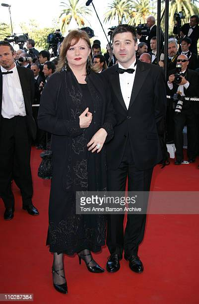 Catherine Jacob during 2006 Cannes Film Festival 'Marie Antoinette' Premiere at Palais des Festival in Cannes France
